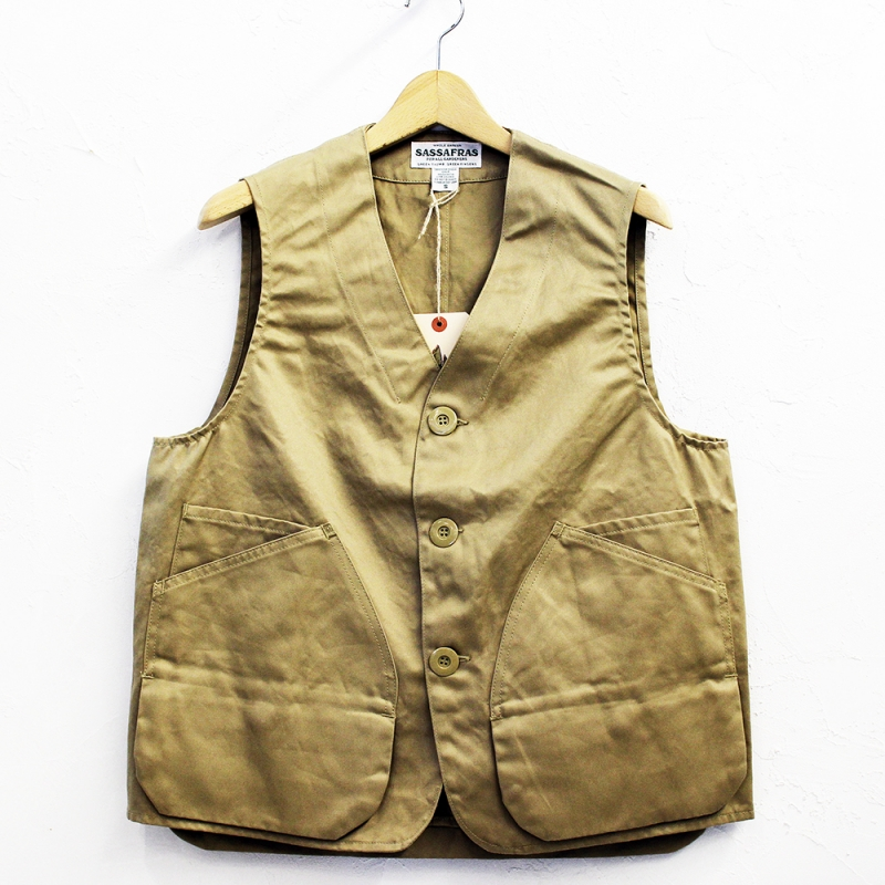 SASSAFRAS Landscaper Vest(West Point)