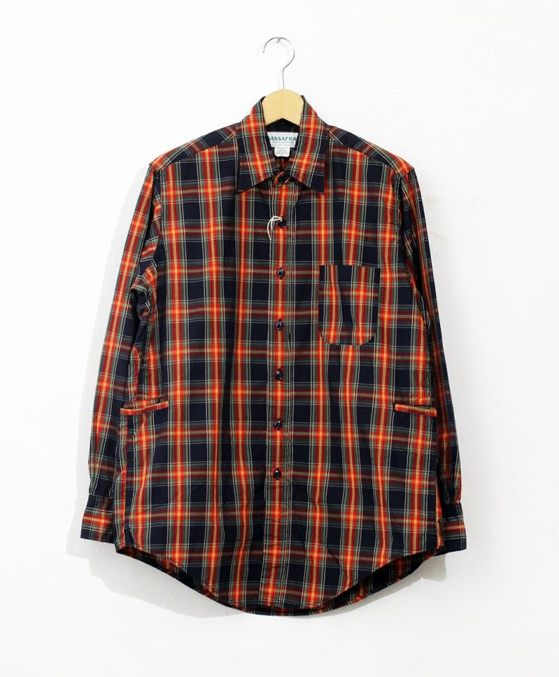 SASSAFRAS Wheel Barrow Shirt(Broad Tartan)