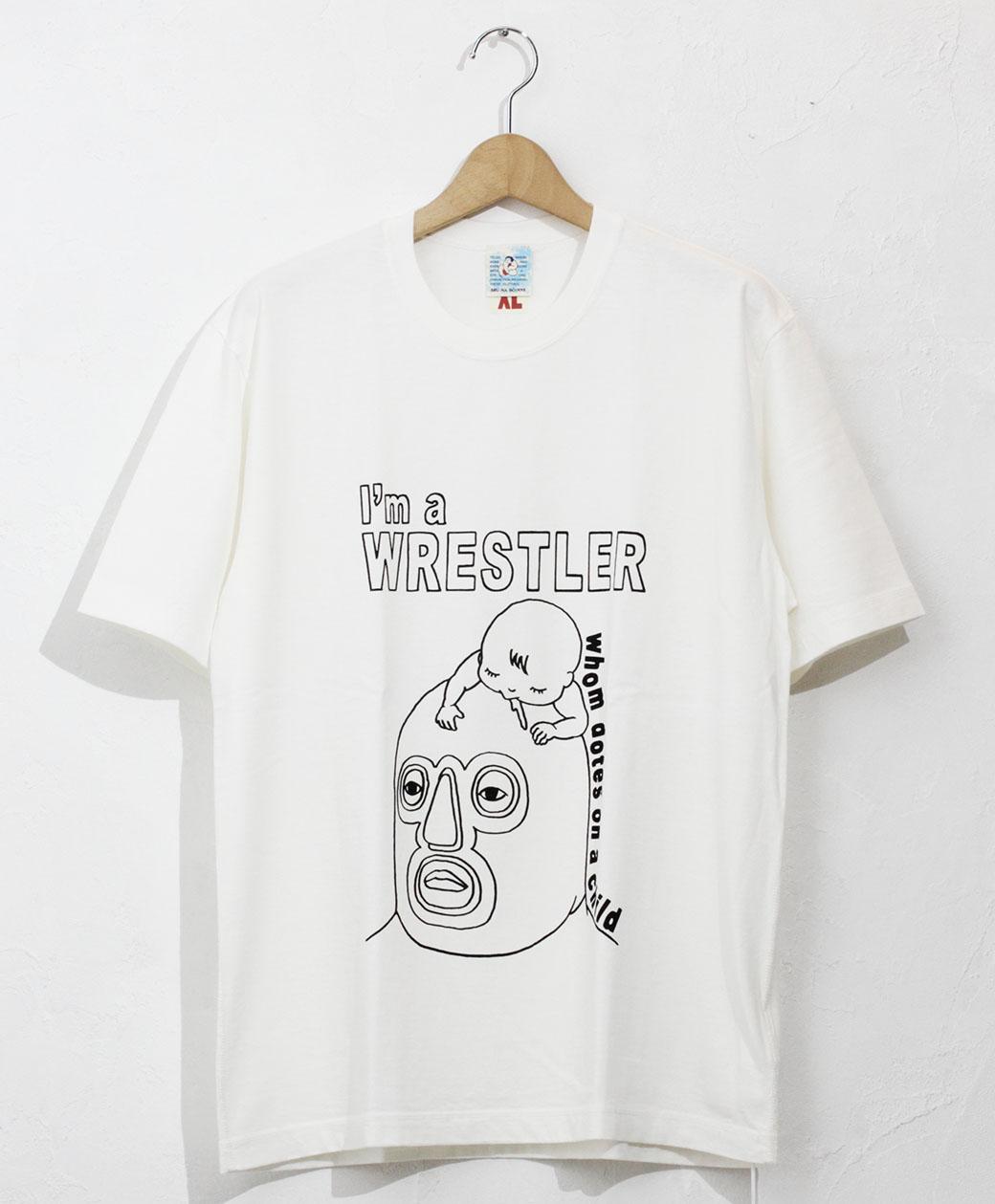 BRU NA BOINNE 子煩悩レスラーT(ホワイト)