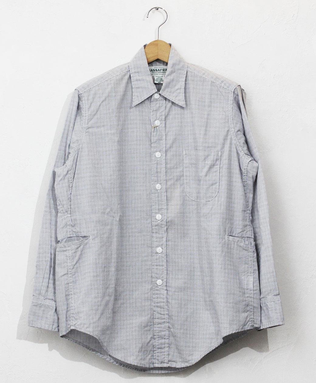 SASSAFRAS Wheel Barrow Shirt(Oxford)