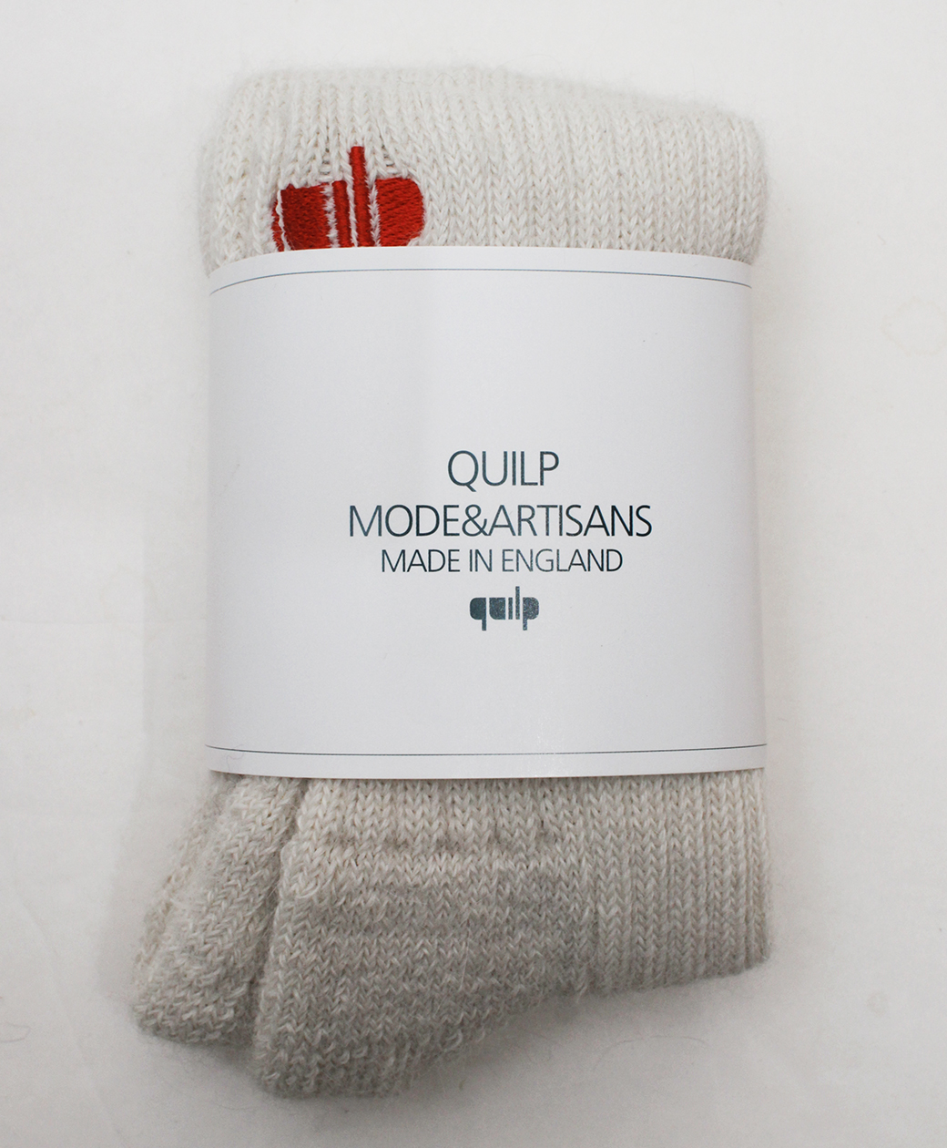 "QUILP ""E"" Alpaca Socks(NATURAL)"