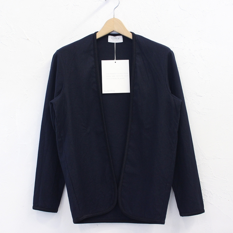 flistfia Piping Cardigan(Mad Navy)