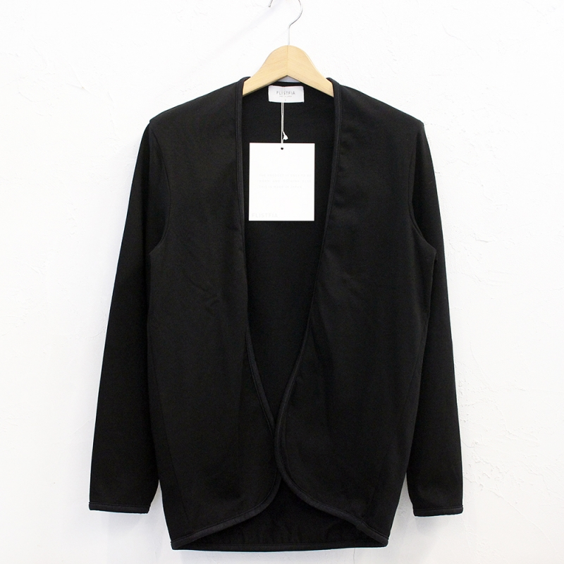 flistfia Piping Cardigan(Black)