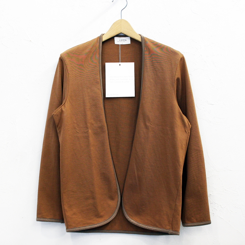 flistfia Piping Cardigan(Camel)