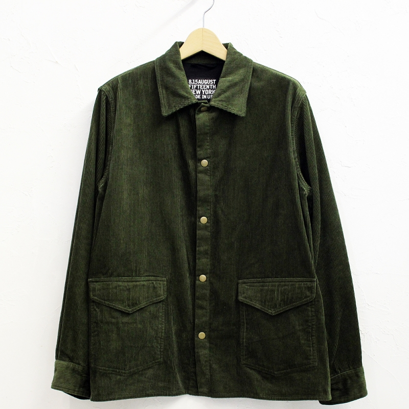 8.15 August Fifteenth 【BRANCH別注】VERMONT JACKET(OLIVE)