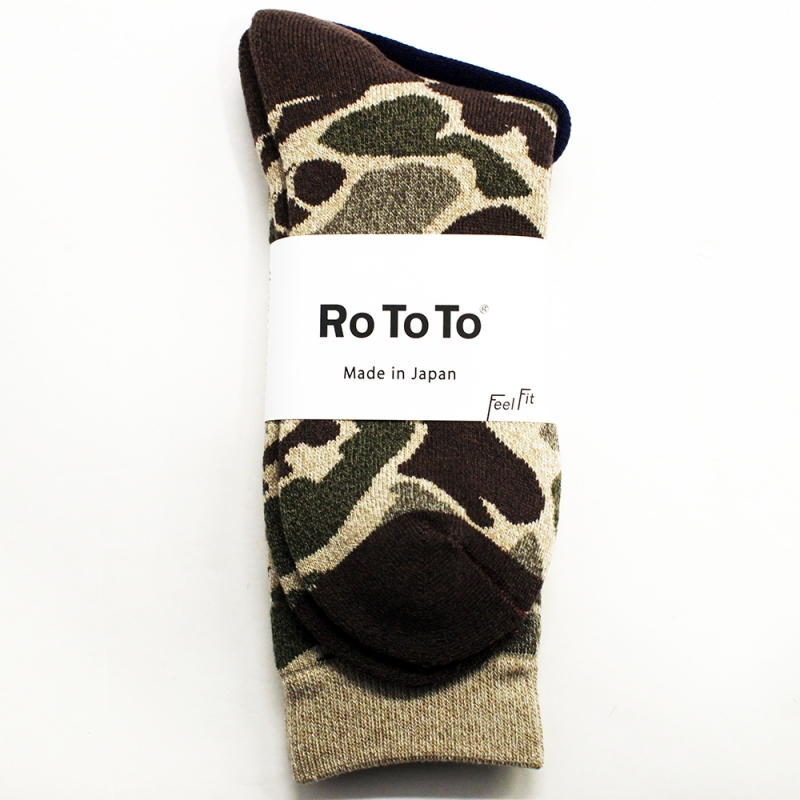 RoToTo CAMO SOCKS(LIGHT CAMO)