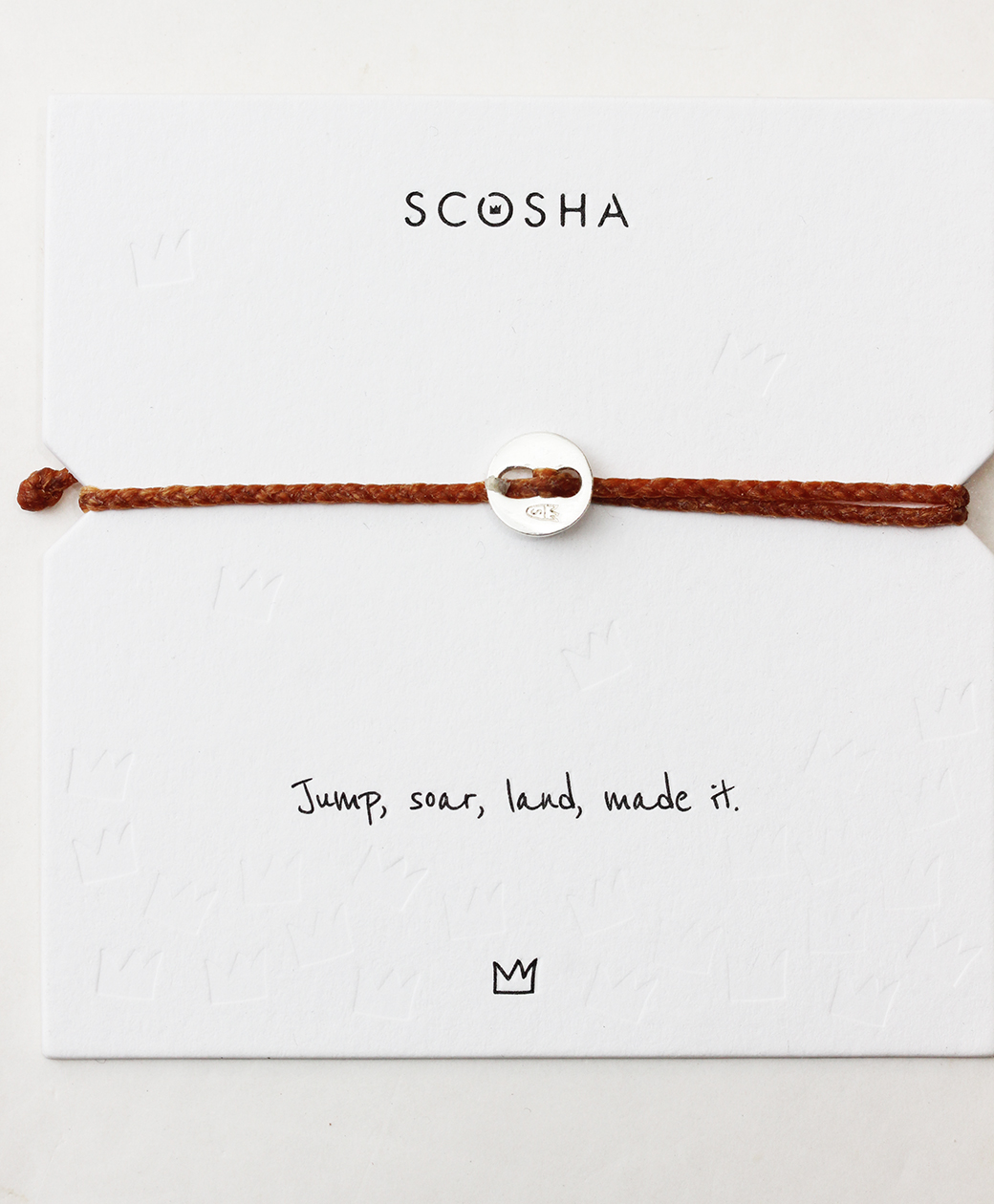 scosha Bracelet SS(ORANGE)