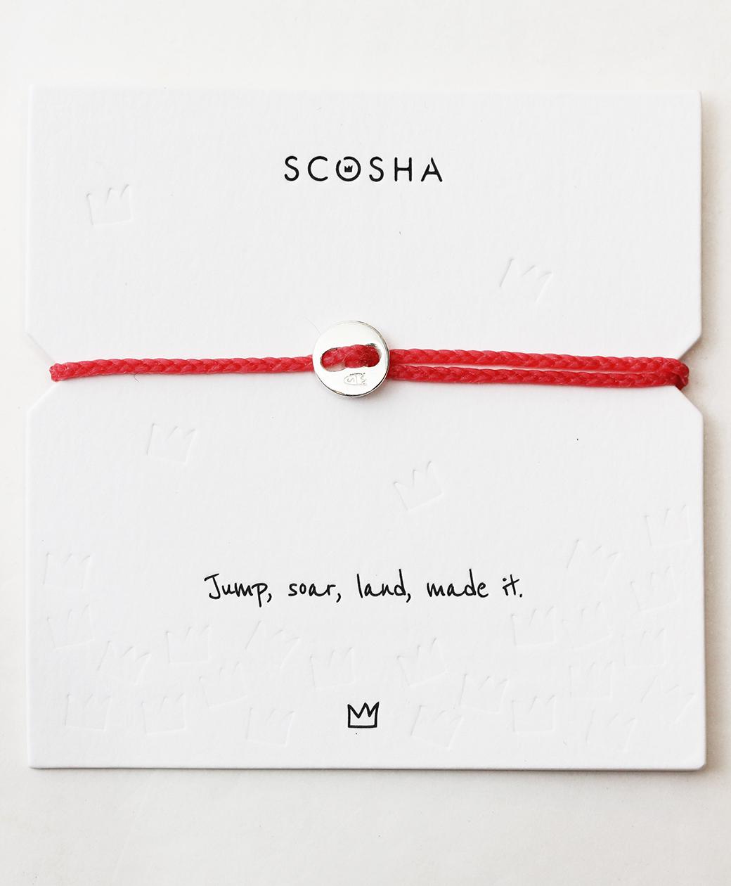 scosha Bracelet SS(HOT PINK)