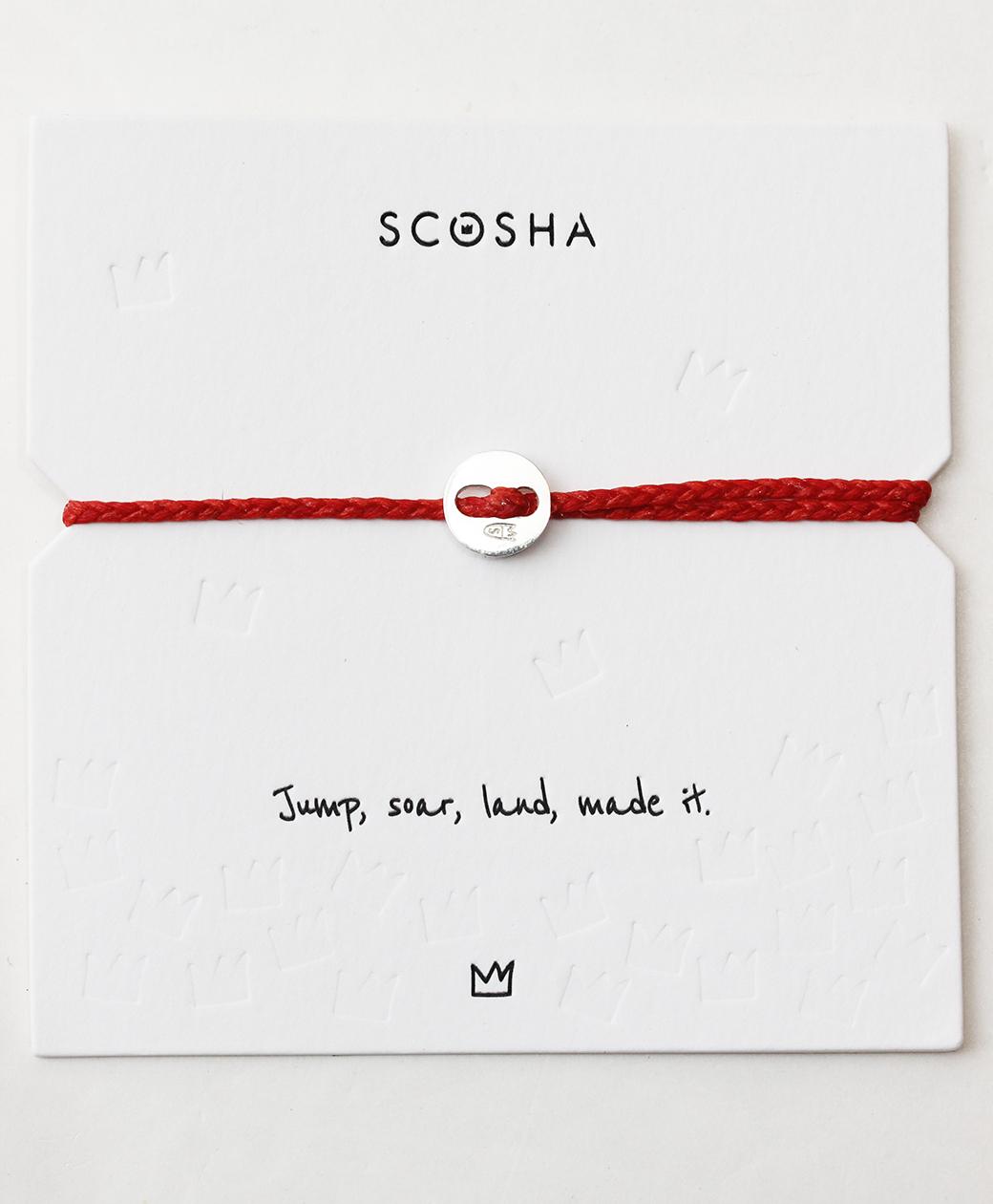 scosha Bracelet SS(SCARLET)