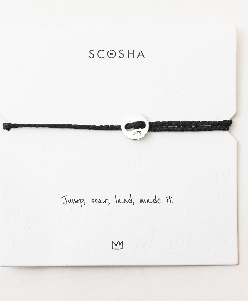 scosha Bracelet SS(BLACK)
