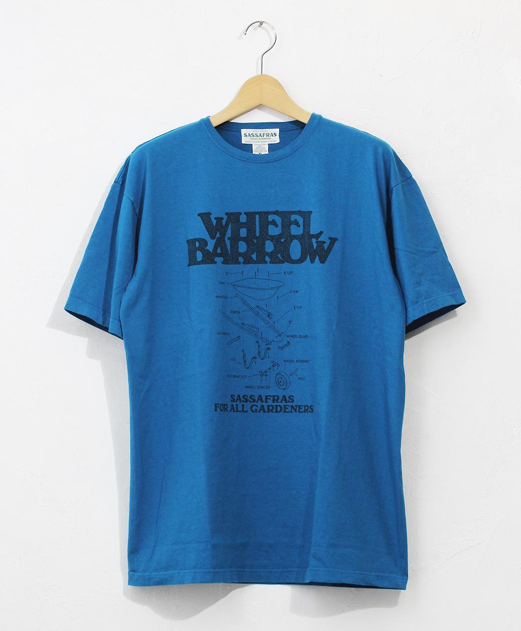 SASSAFRAS Wheel Barrow T 1/2(Turquoise)