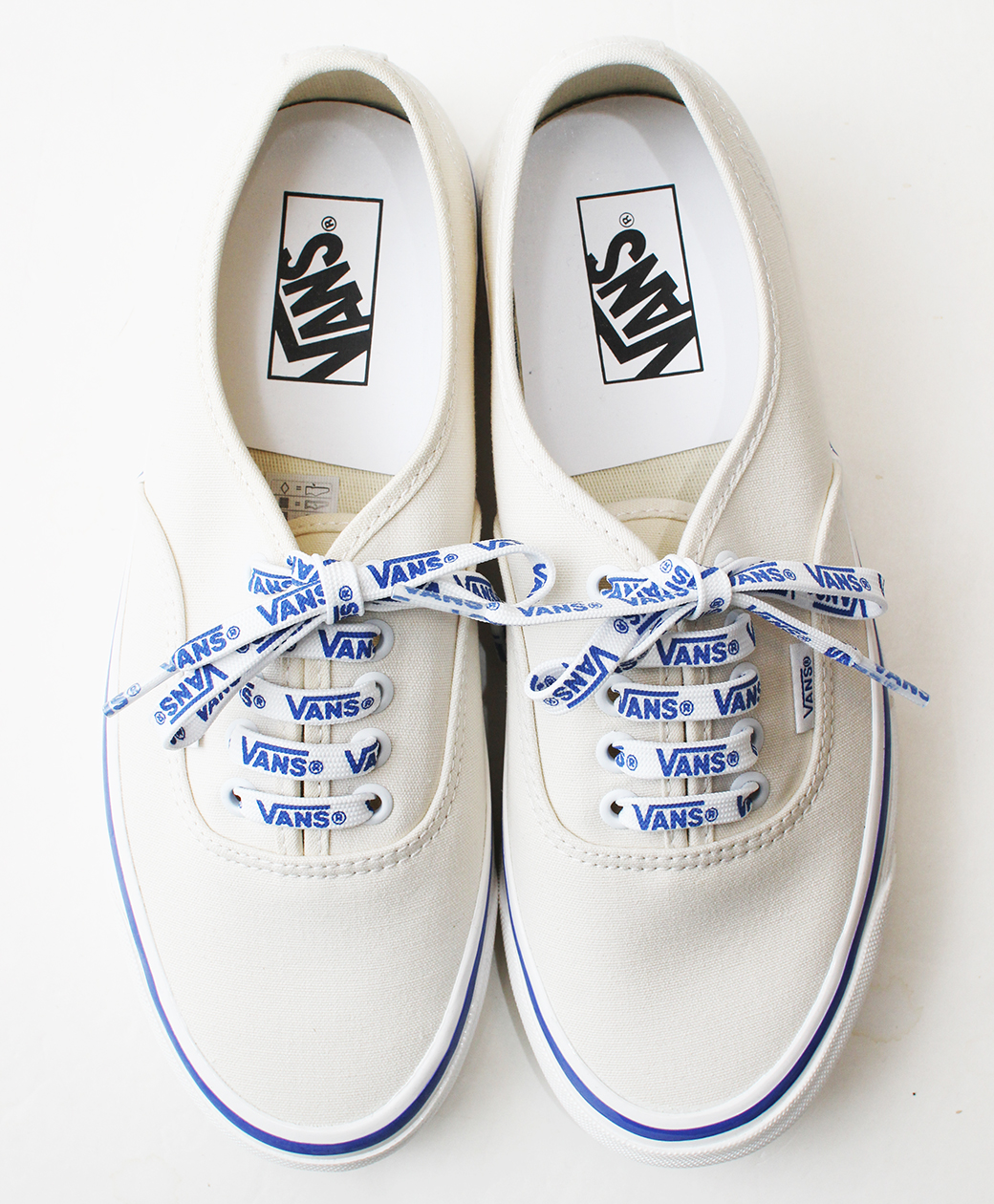 VANS VANS Authentic 44 Dx(WHITE/VANS LACE)