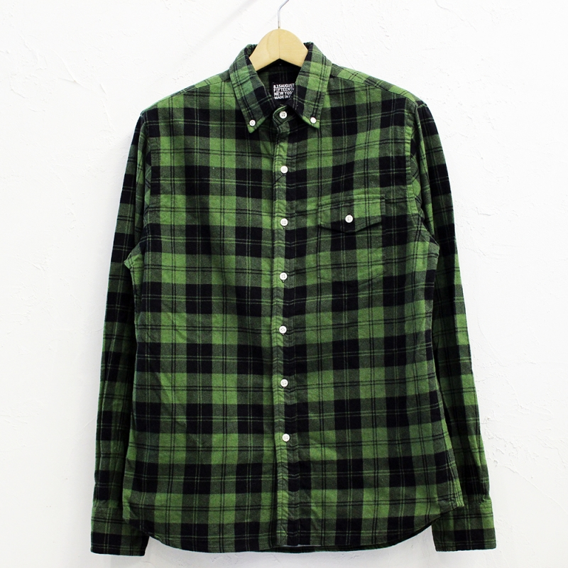 8.15 August Fifteenth NATURAL FIT B.D.SHIRT(PRINTED FLANNEL)