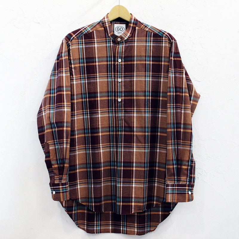 2020SS SALE *7月19日(日) にて終了! IRISH GRANDAD COLLAR SHIRTS(#C)