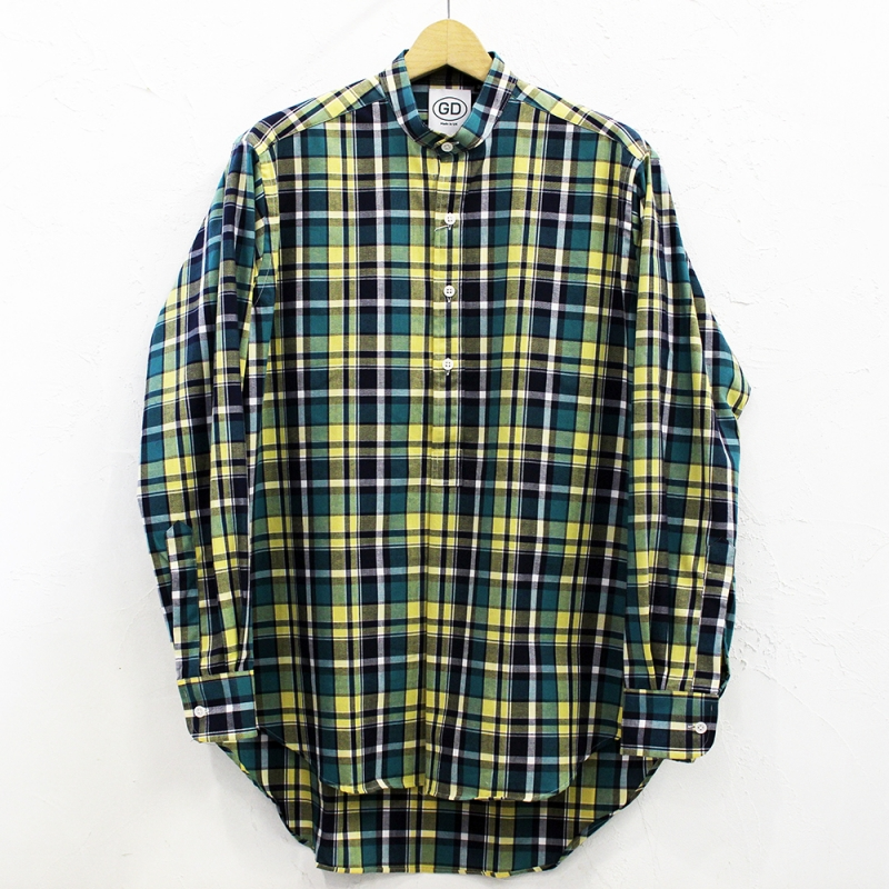 2020SS SALE *7月19日(日) にて終了! IRISH GRANDAD COLLAR SHIRTS(#G)