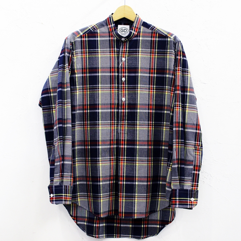 2020SS SALE *7月19日(日) にて終了! IRISH GRANDAD COLLAR SHIRTS(#D)