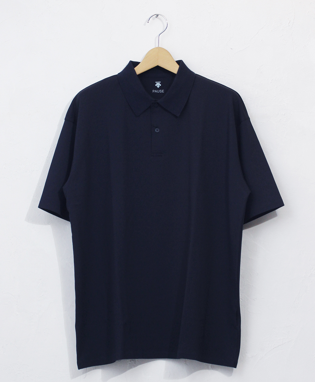 DESCENTE POLO SHIRT(NVY)