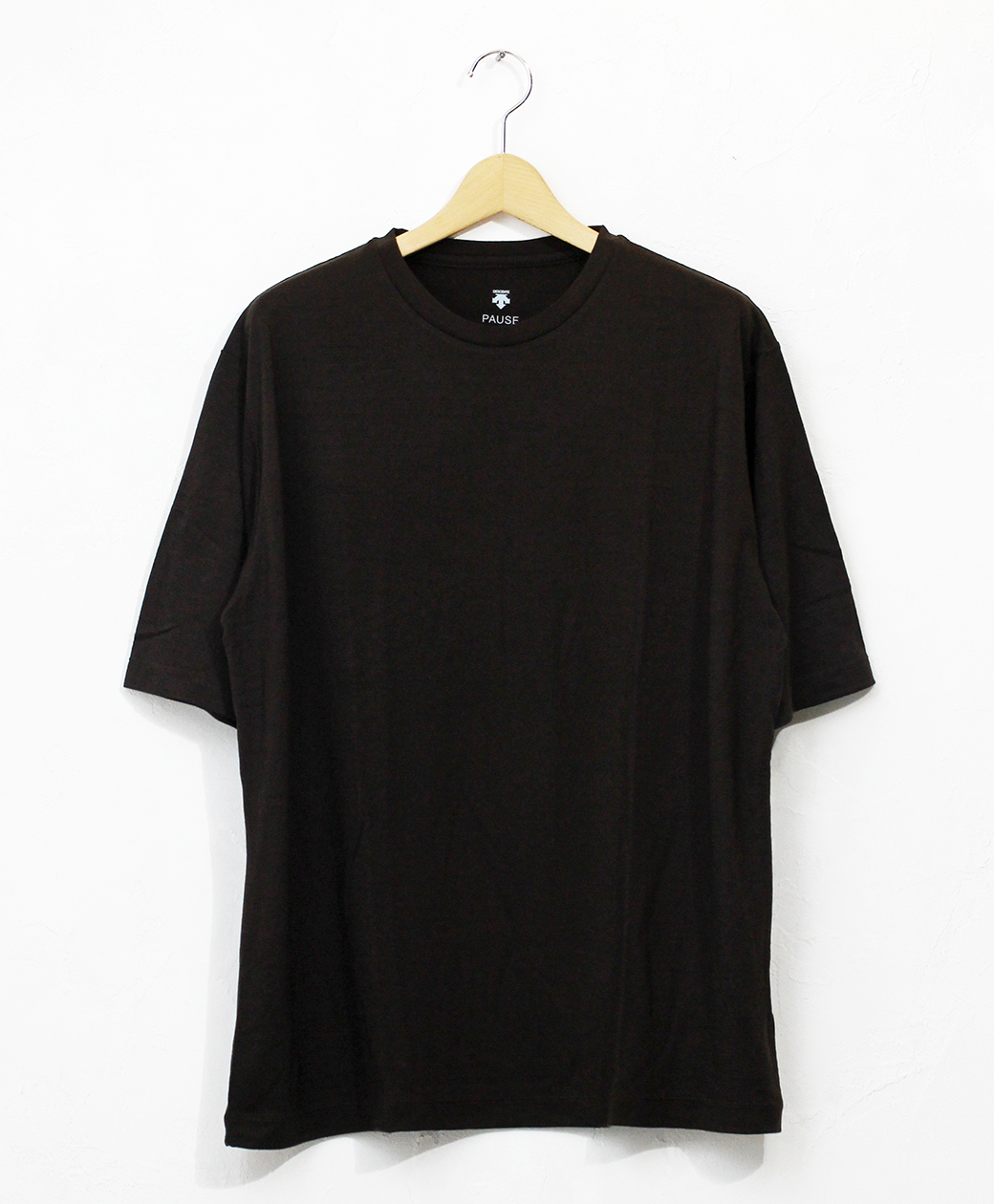 DESCENTE MERINO WOOL H/S T-SHIRT(BWD)