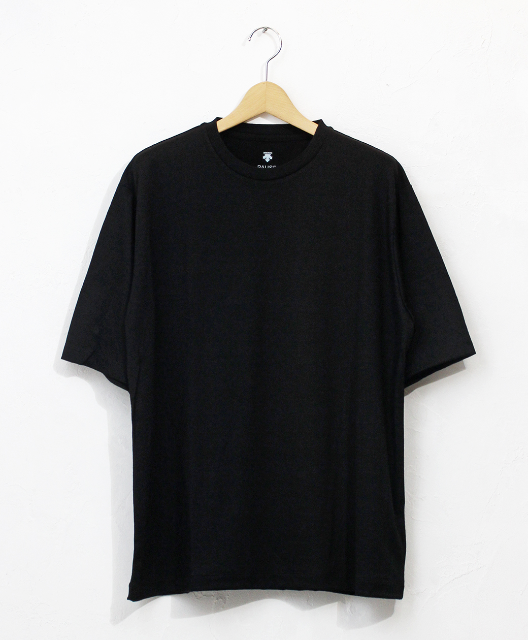 DESCENTE MERINO WOOL H/S T-SHIRT(BLK)