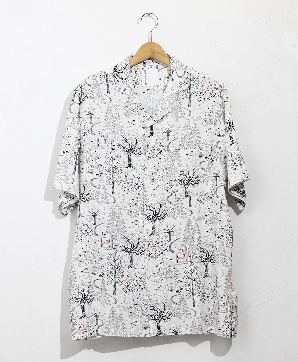 BRU NA BOINNE メイジーシャツ(ホワイト)