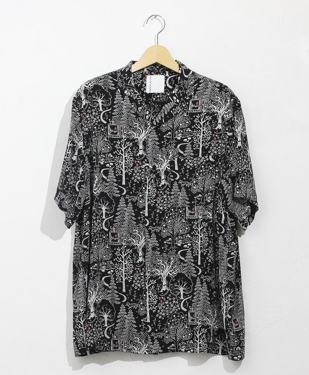 BRU NA BOINNE メイジーシャツ(ブラック)
