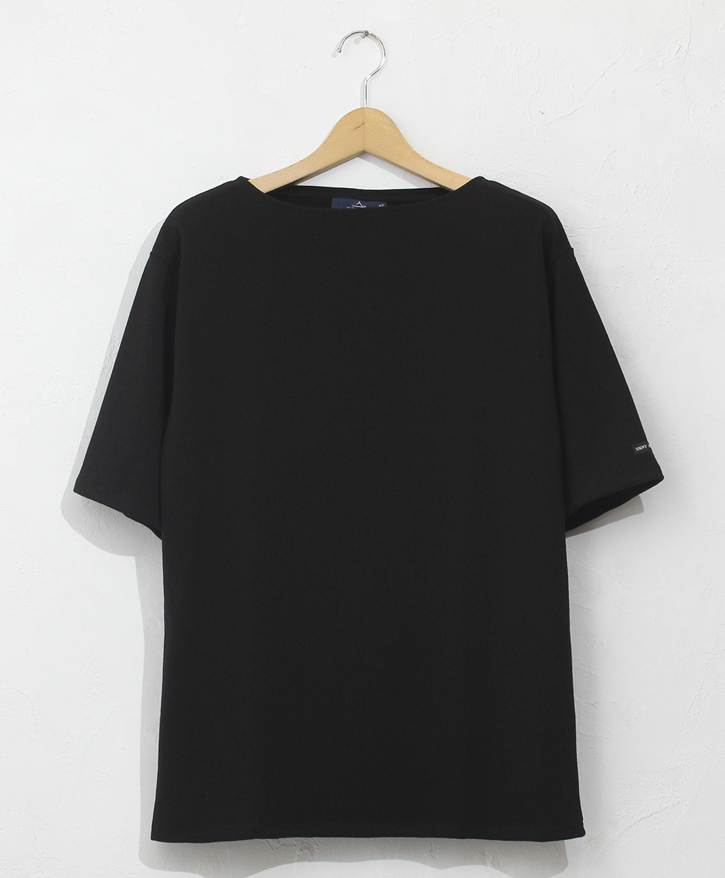 SAINT JAMES OUESSANT LIGHT SHORT SLEEVE(NOIR)