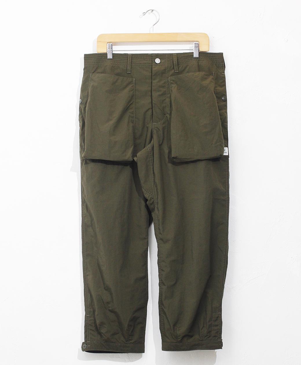 SASSAFRAS Digs Crew Pants 4/5(Nylon RipStop)