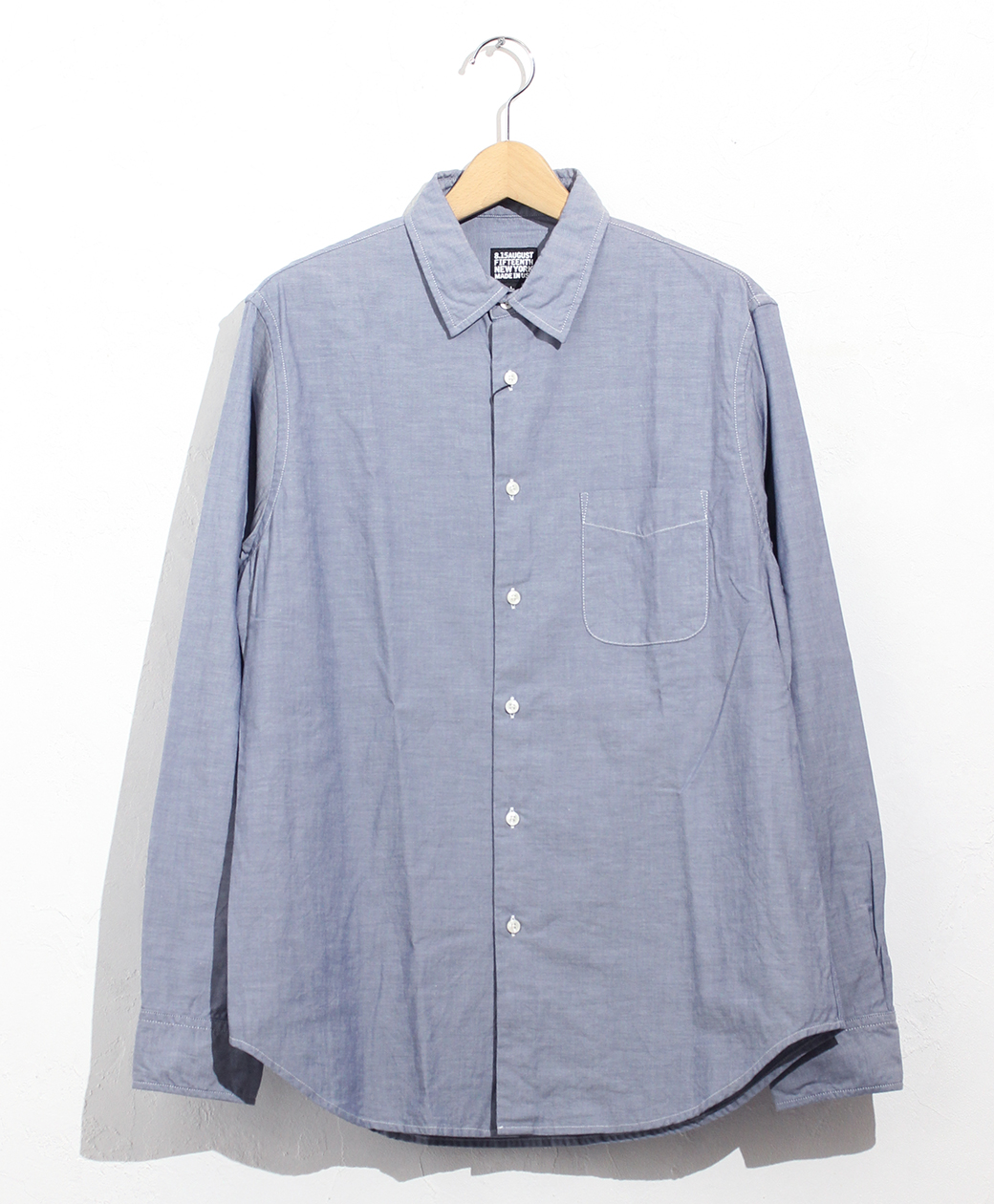 8.15 August Fifteenth FRENCH COLLAR SHIRT(FRENCH OXFORD)