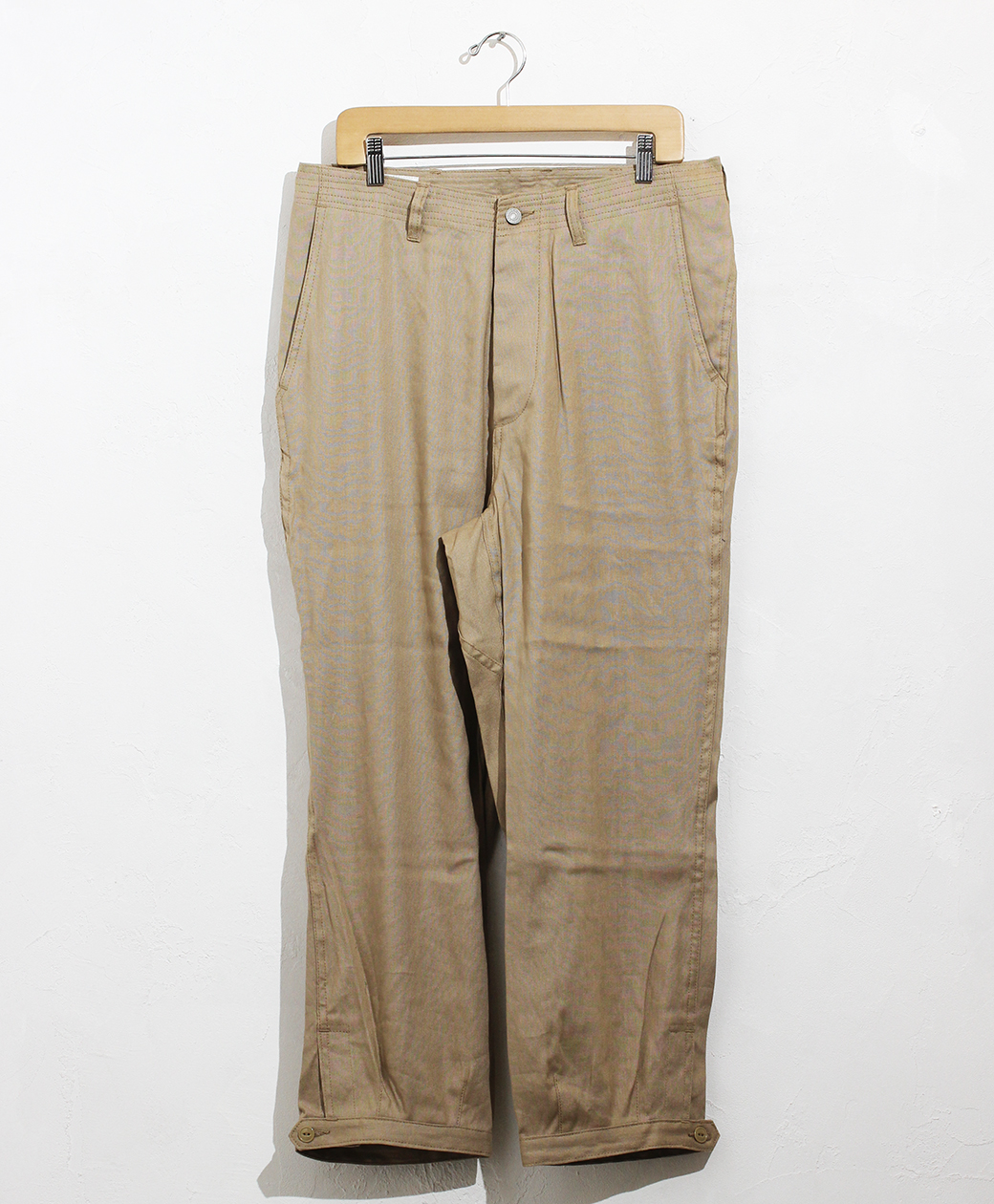 SASSAFRAS Sprayer Stream Pants 4/5(C/L Oxford)