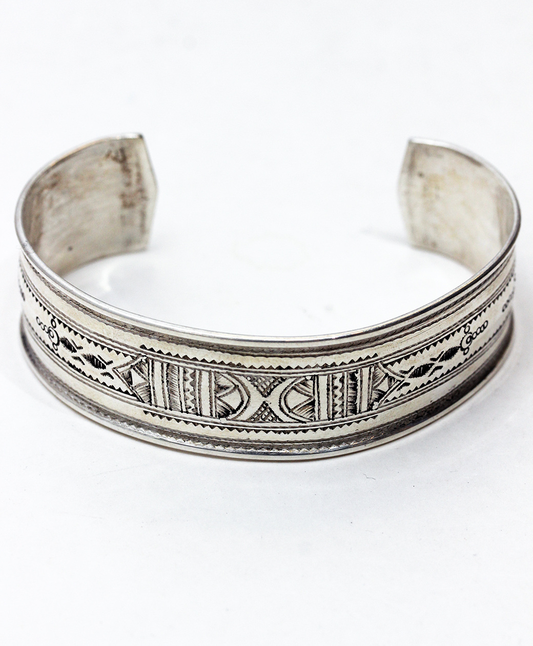 TUAREG SILVER JEWELRY BANGLE(A)