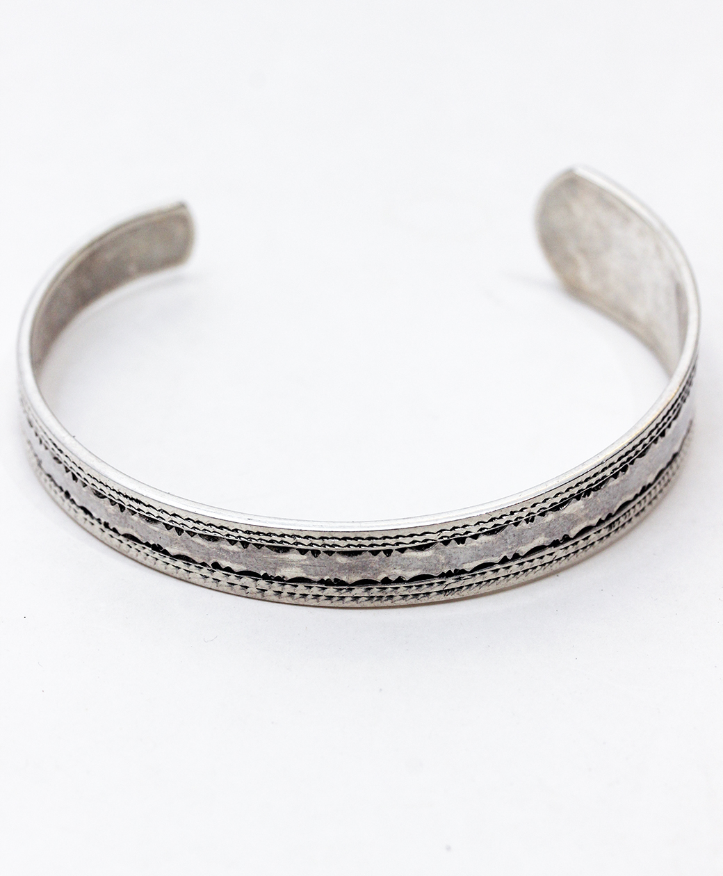 TUAREG SILVER JEWELRY BANGLE(B)