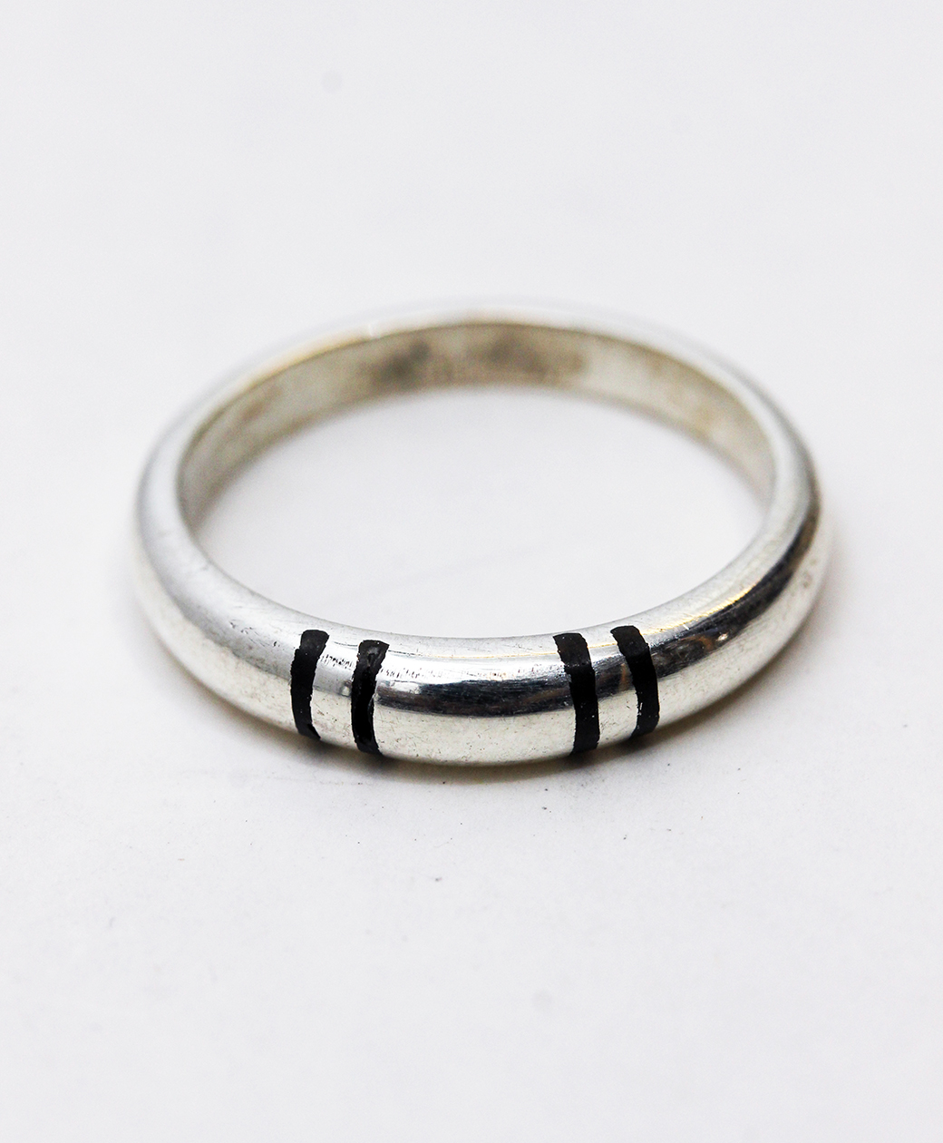 TUAREG SILVER JEWELRY 4LINE RING
