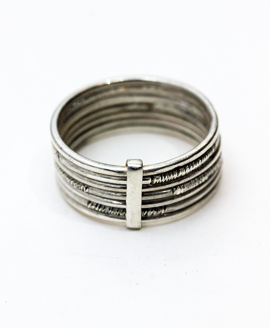 TUAREG SILVER JEWELRY 7SET RING
