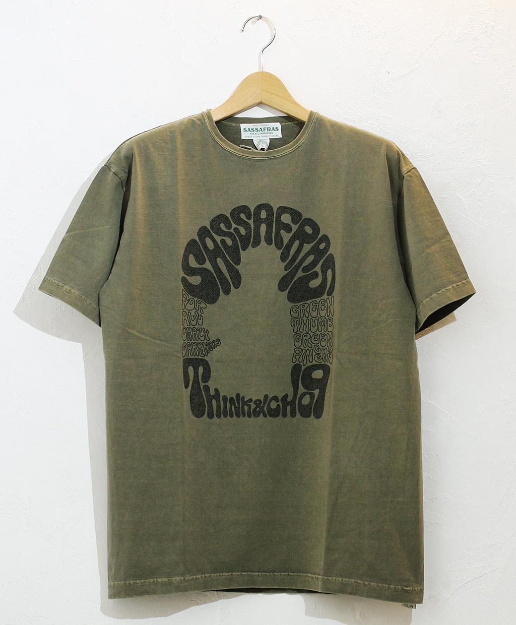 SASSAFRAS T&C Unsccooppam T(Olive Pigment)