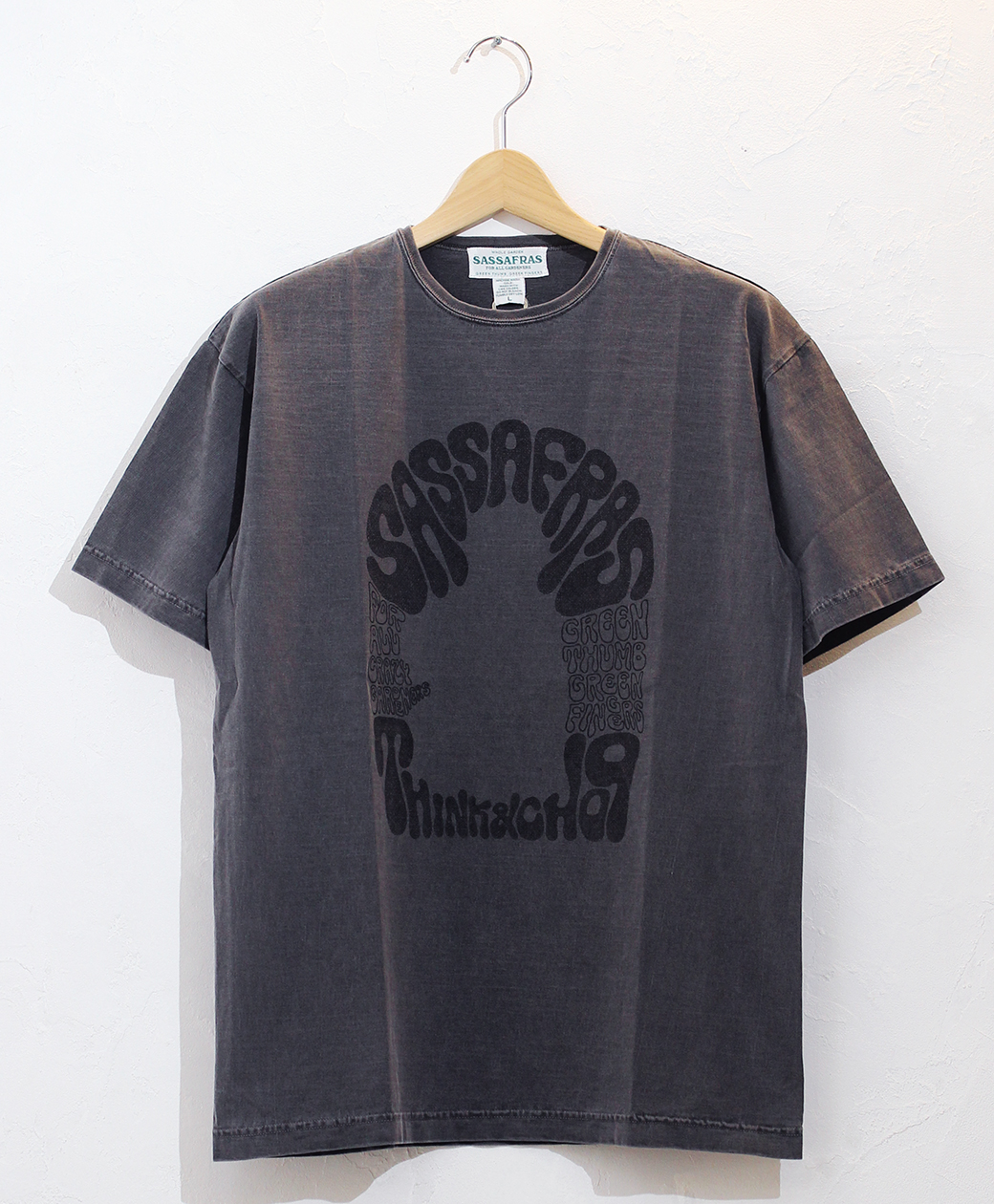 SASSAFRAS T&C Unsccooppam T(Black Pigment)