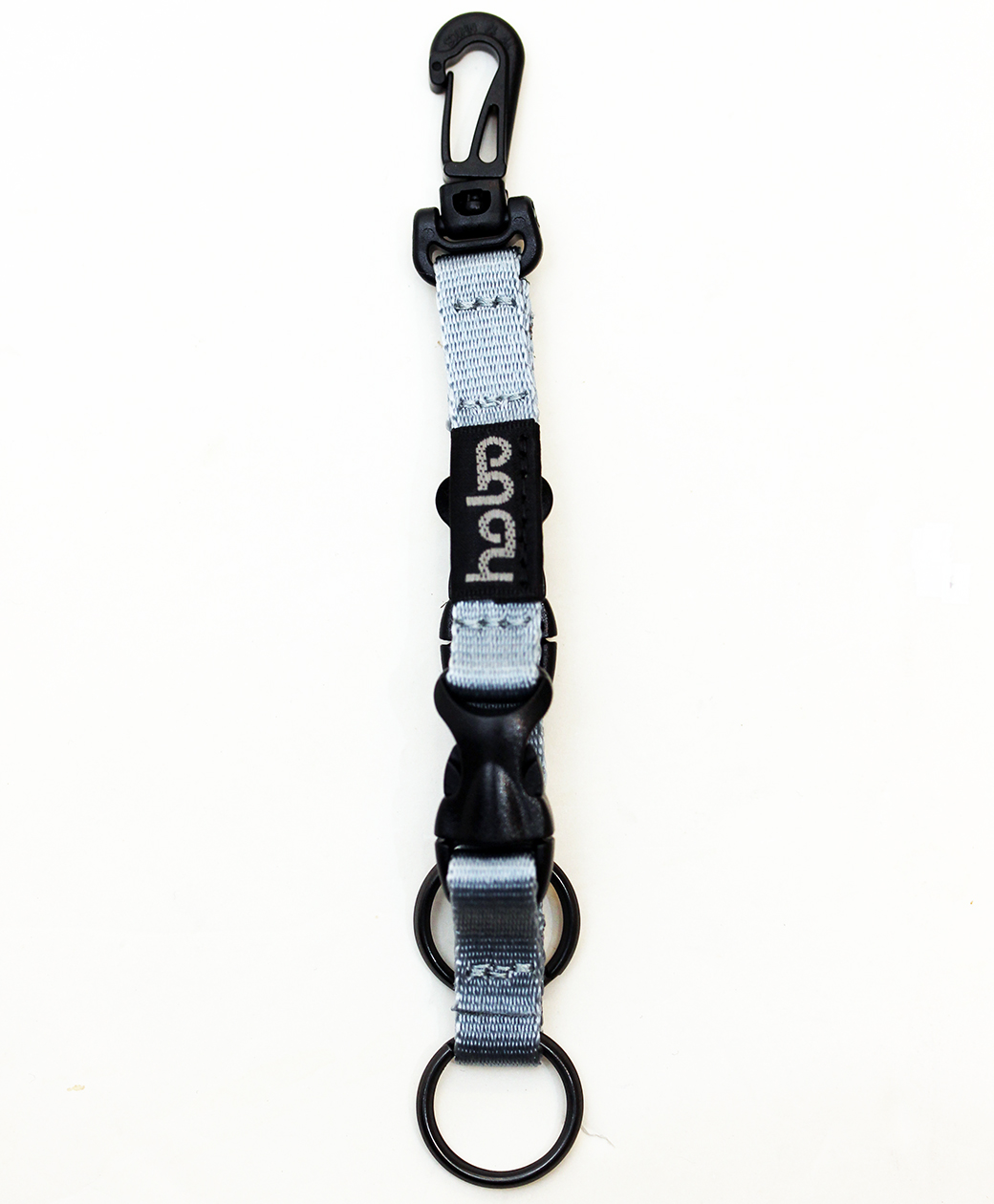 hobo NYLON TAPE KEY RING with DOUBLE BUCKLE RELEASE(SAX)