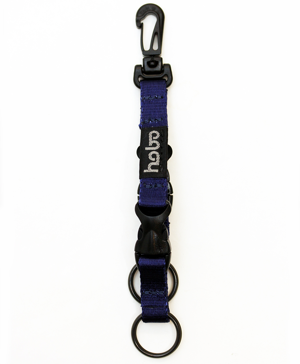 hobo NYLON TAPE KEY RING with DOUBLE BUCKLE RELEASE(BLUE)
