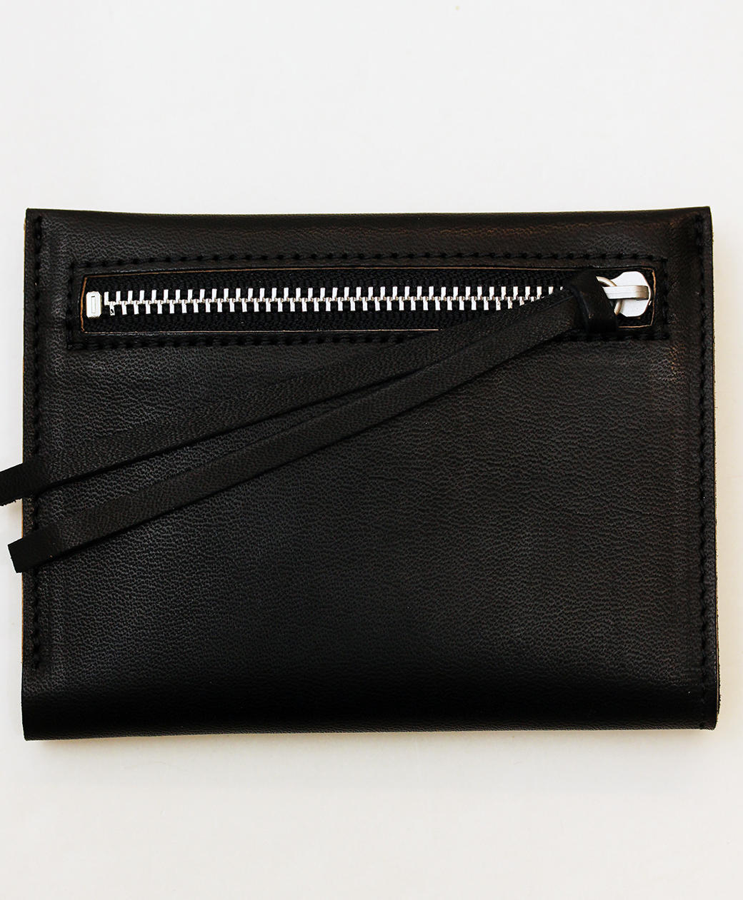hobo HORSE LEATHER BIFOLD WALLET(BLACK)