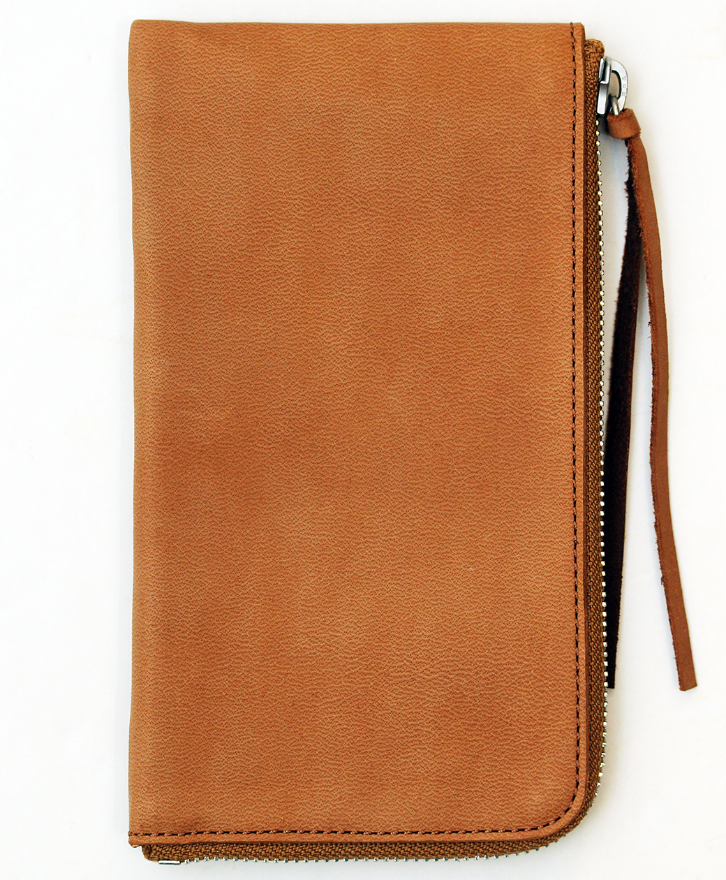 hobo HORSE LEATHER LONG ZIP WALLET(BROWN)
