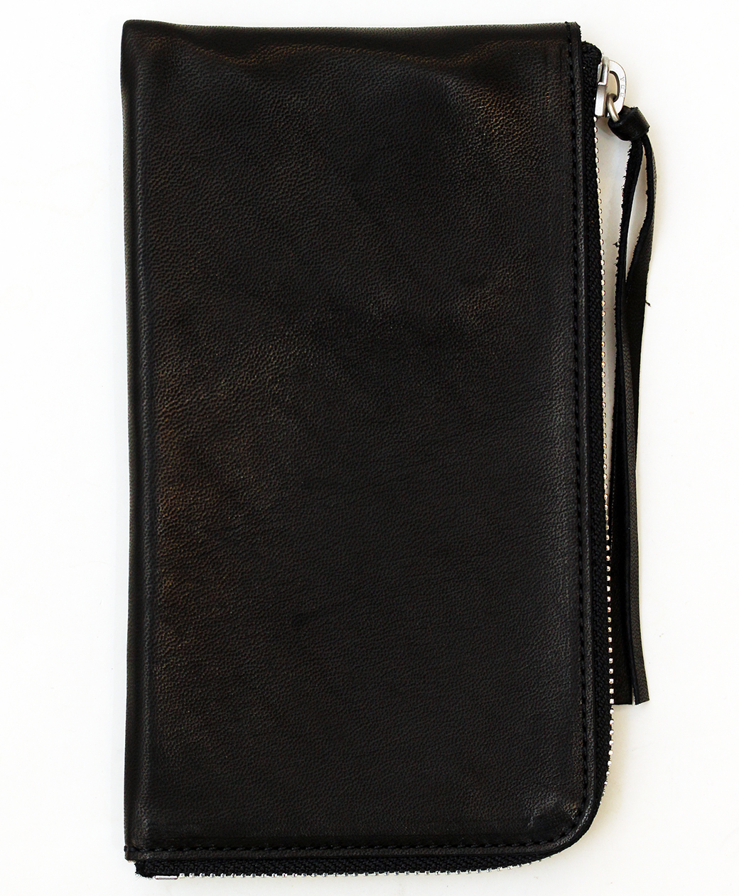 hobo HORSE LEATHER LONG ZIP WALLET(BLACK)