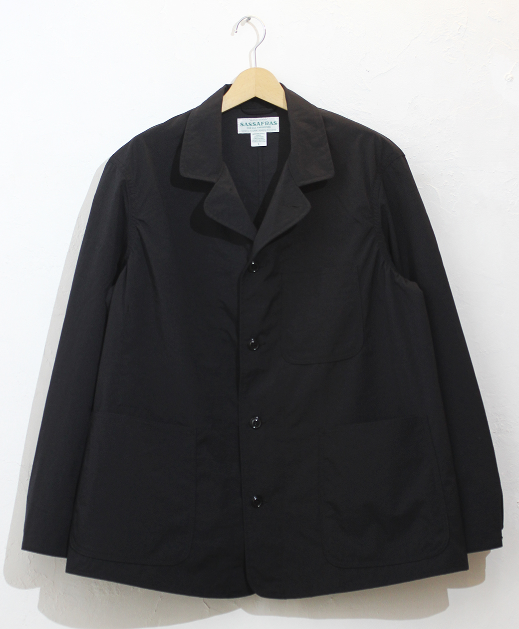 SASSAFRAS Sprayer Jacket(Nylon Oxford)