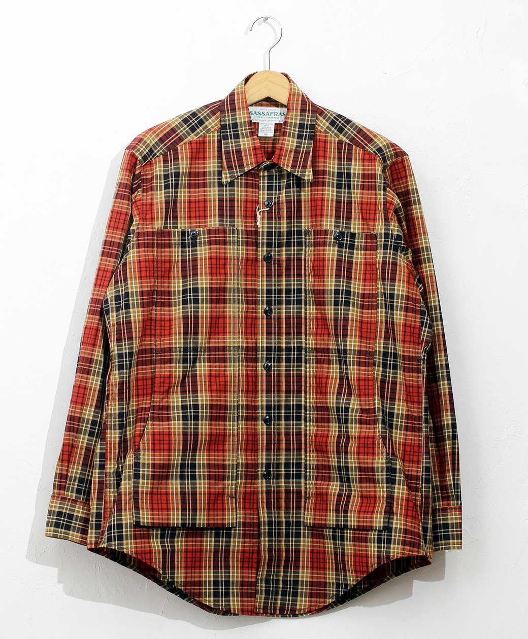 SASSAFRAS Feel Sun Half(High Count Tartan)