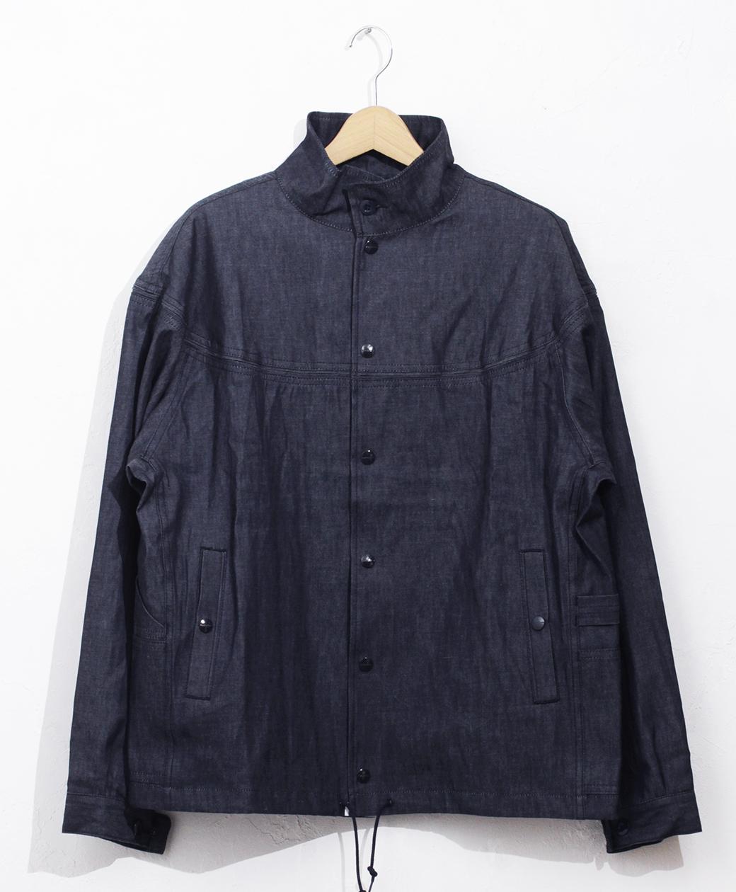 SASSAFRAS Gardener Cap Jacket(6oz Denim)