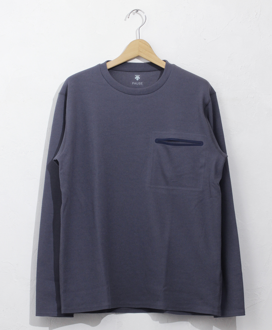 DESCENTE THERMAL L/S PULLOVER(BLGY)