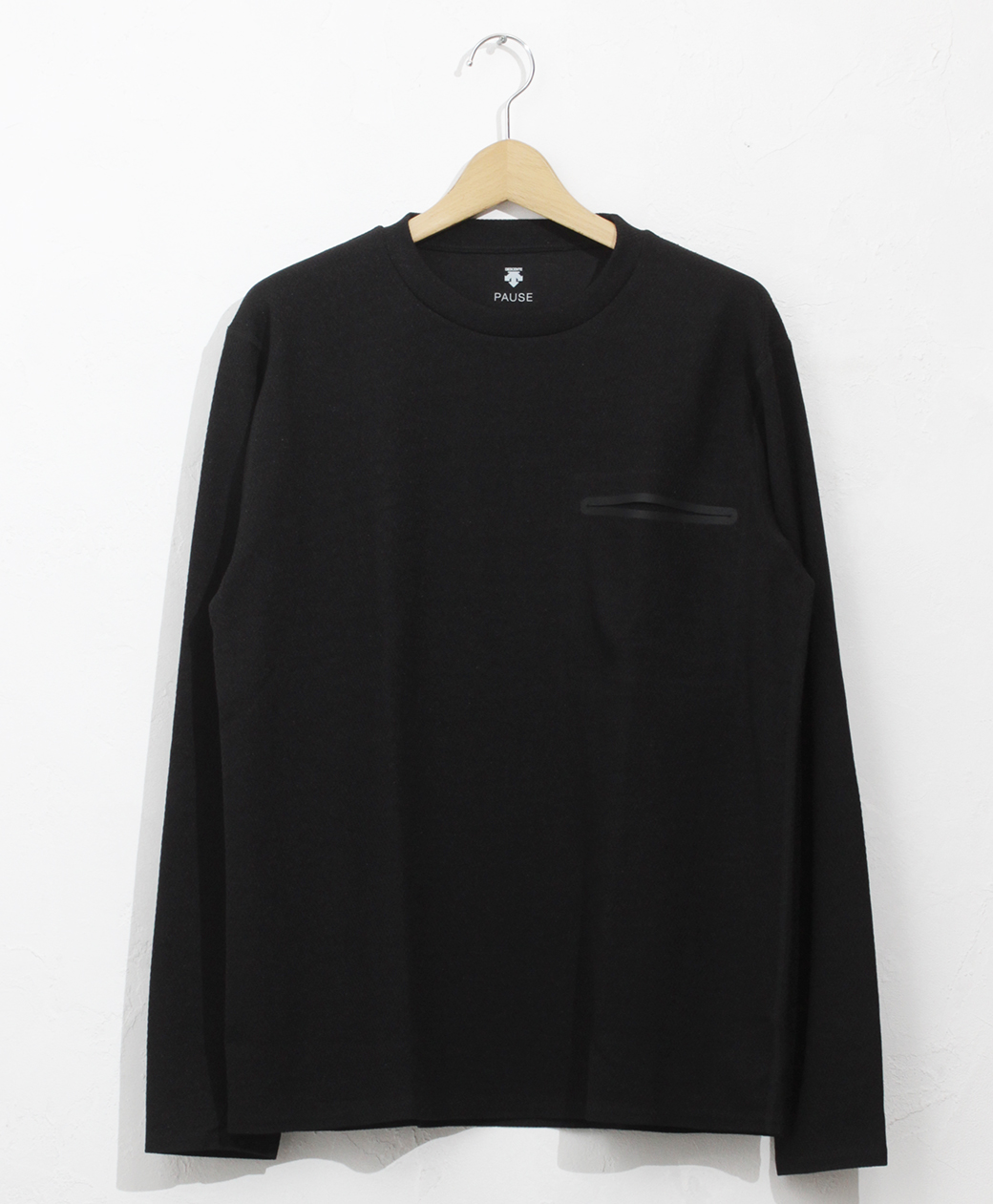 DESCENTE THERMAL L/S PULLOVER(BLK)