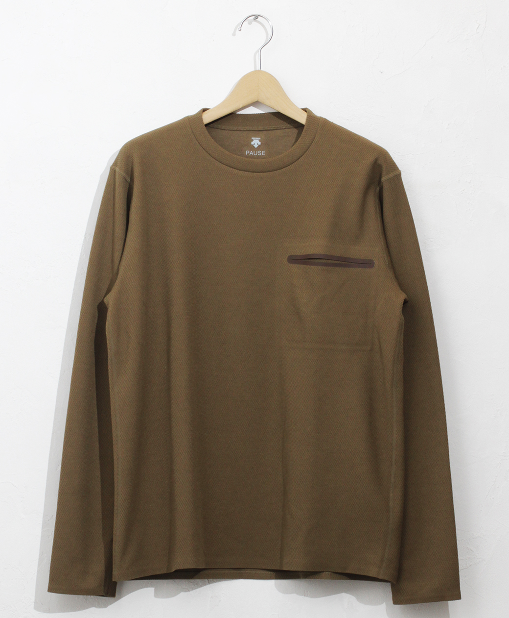 DESCENTE THERMAL L/S PULLOVER(GBRN)