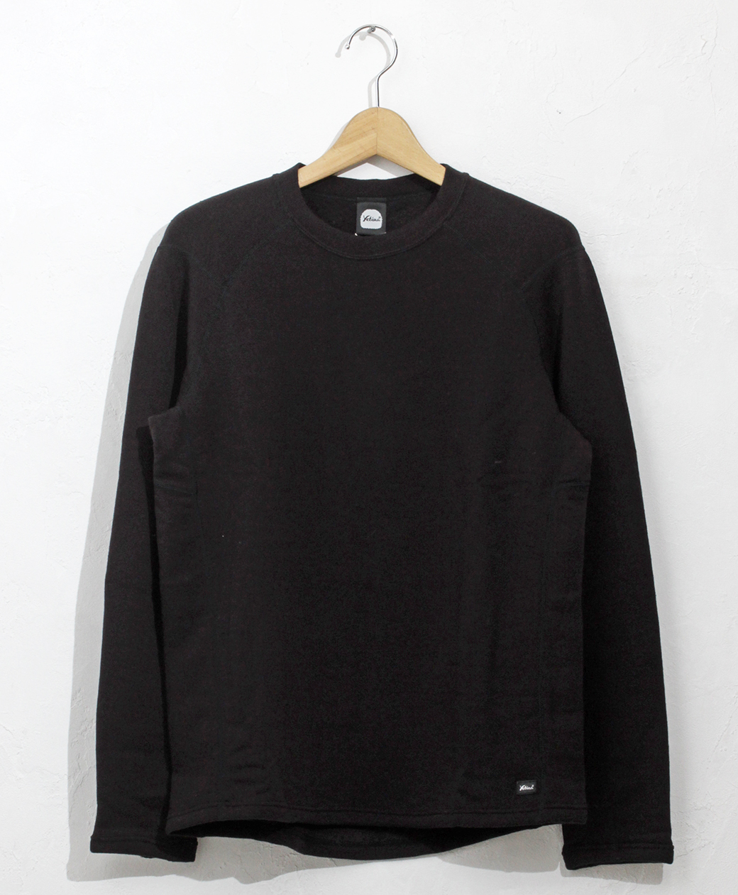 yetina light crew neck(black)
