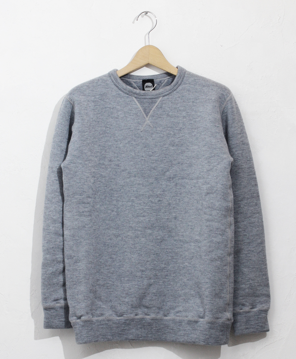 yetina sweat shirt(Fog Blue)