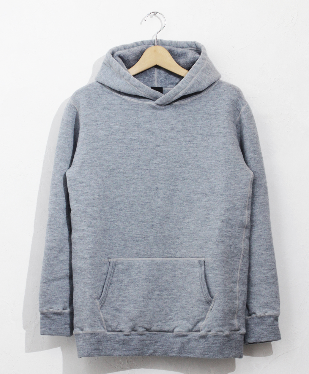 yetina pullover hoodie(Fog Blue)