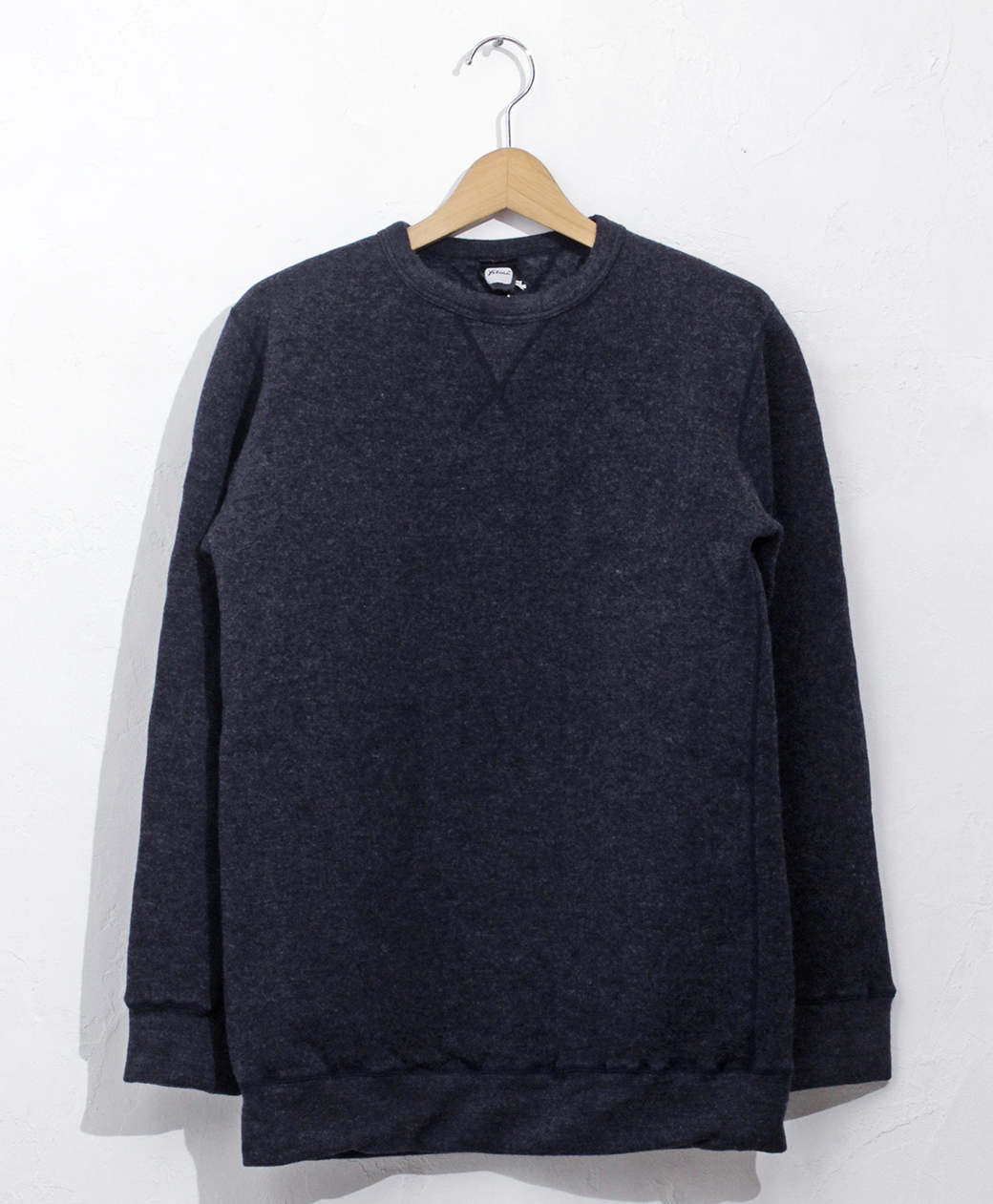 yetina sweat shirt(Iron Navy)